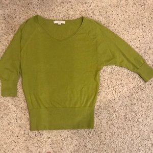 Ann Taylor LOFT Women's Green Sweater, size S